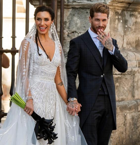 Свадбата на Серхио Рамос и Пилар Рубио